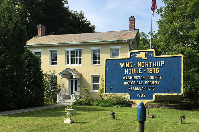 Wing-Northup House and Sign
